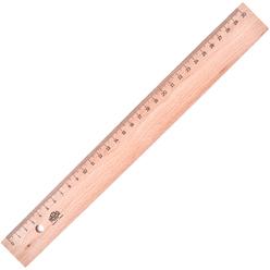 Hatas Tahta Cetvel (Takviyesiz) 30 cm 0035 - Thumbnail