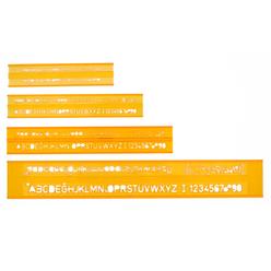 Hatas Teknik Resim Yazı Seti 3-5-7-10 mm 02250 - Thumbnail