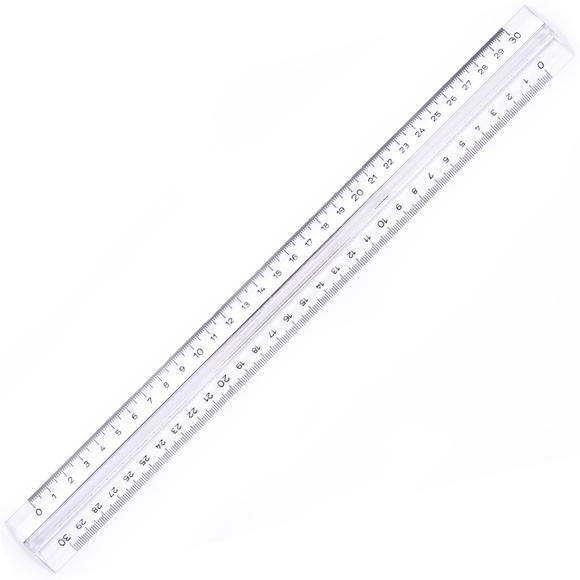 Hatas Tribldesimetre Şeffaf 30 cm 0250