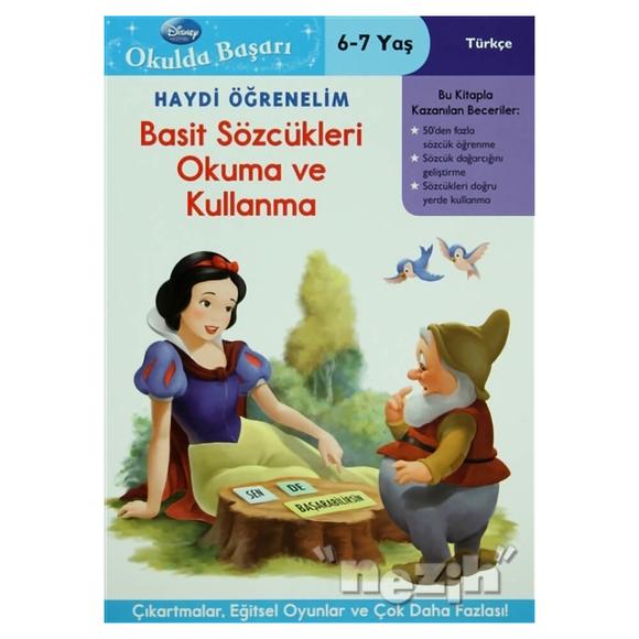 Haydi Öğrenelim - Basit Sözcükleri Okuma ve Kullanma 6-7 Yaş