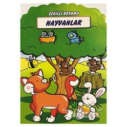 Hayvanlar - Şekilli Boyama - Thumbnail