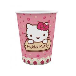Hello Kitty Bardak 8'li - Thumbnail