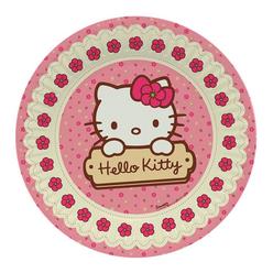 Hello Kitty Tabak 23 cm 8'li - Thumbnail