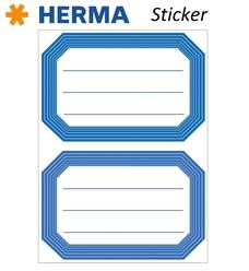 Herma 12 Adet Okul Etiketi 82x55 mm 5714 - Thumbnail