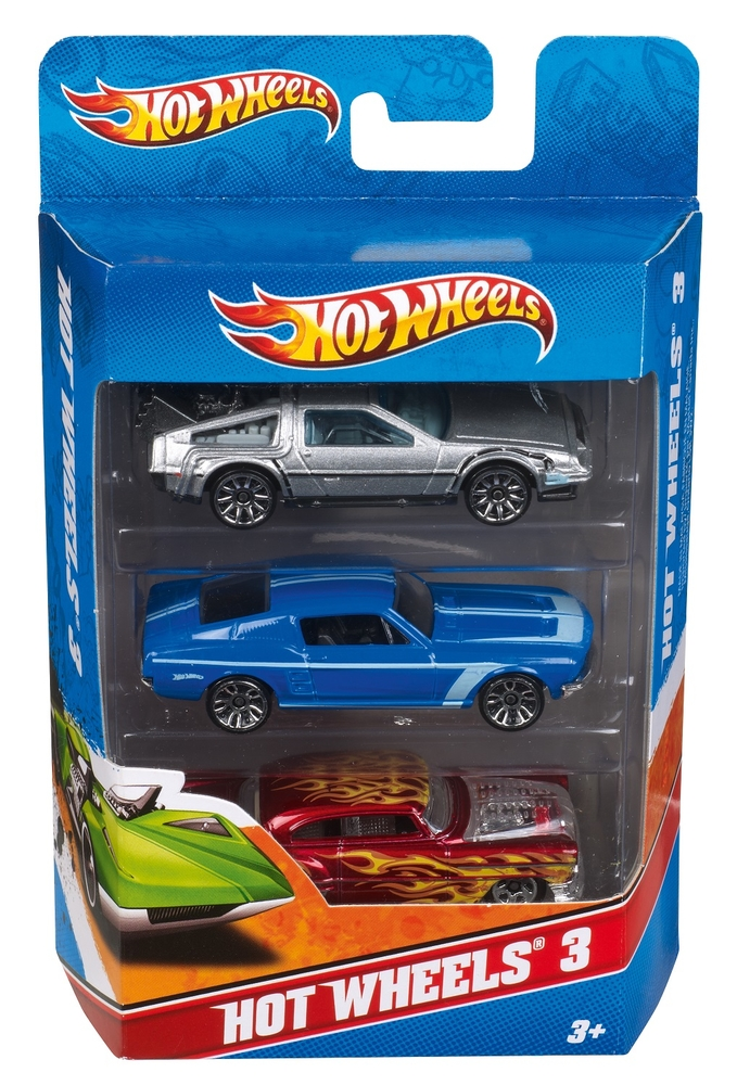 Hot Wheels 3 Lu Araba Seti K5904 Nezih