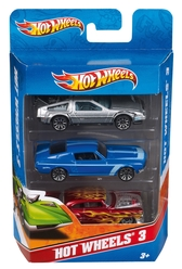 Hot Wheels 3'lü Araba Seti K5904 - Thumbnail