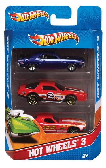 Hot Wheels 3'lü Araba Seti K5904