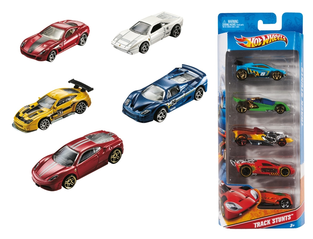 Hot Wheels 5 Li Araba Seti 1806 Nezih