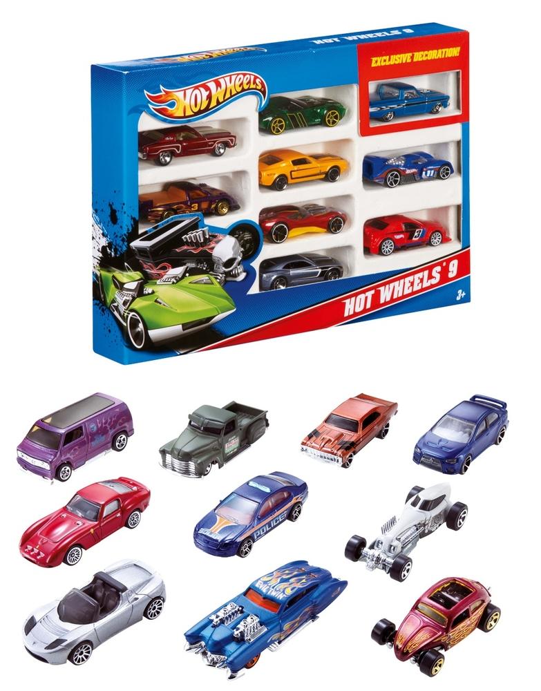 Hot Wheels Araba Seti 10 Lu 54886 Nezih