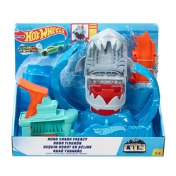Hot Wheels Robotik Köpek Balığı Renk Değiştiren Oyun Seti GJL12 - Thumbnail