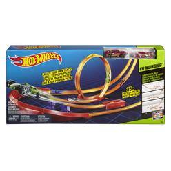 Hot Wheels Yüksek Atlayış Yarış Seti Y0276 - Thumbnail