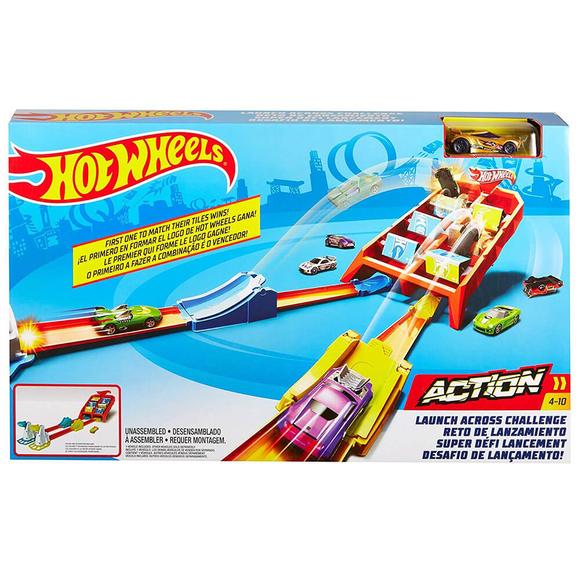 Hot Wheels Yüksek Skor Atlayışı Yarış Seti Gbf89