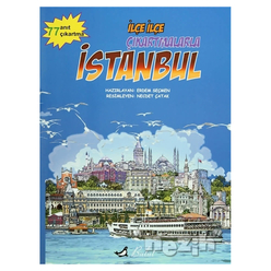 İlçe İlçe Çıkartmalarla İstanbul - Thumbnail