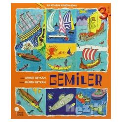 İlk Kitabını Kendin Boya - Gemiler - Thumbnail