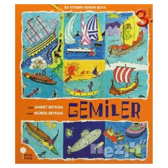 İlk Kitabını Kendin Boya - Gemiler