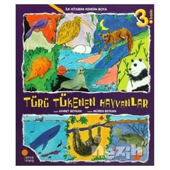 İlk Kitabını Kendin Boya - Türü Tükenen Hayvanlar - Thumbnail