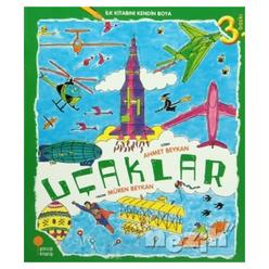İlk Kitabını Kendin Boya - Uçaklar - Thumbnail