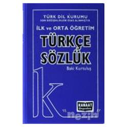 İlk ve Orta Öğretim Türkçe Sözlük - Thumbnail