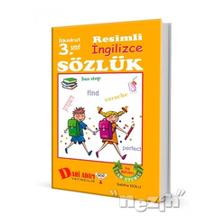 İlkokul 3. Sınıf Resimli İngilizce Sözlük - Thumbnail