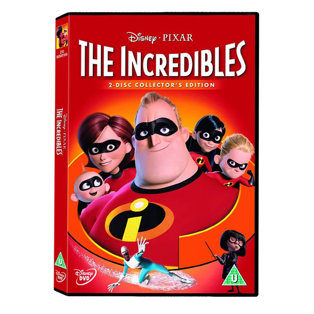 Incredibles Inanilmaz Aile Dvd Nezih