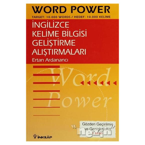 İngilizce Kelime Bilgisi Geliştirme Alıştırmaları