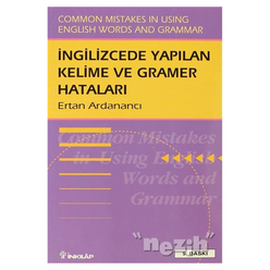 İngilizce'de Yapılan Kelime ve Gramer Hataları Common Mistakes in Using English Words and Grammar - Thumbnail