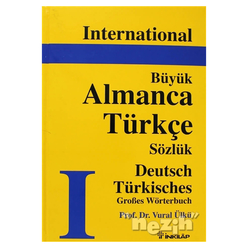International Büyük Almanca - Türkçe Sözlük Deutsch Türkisch Grobes Wörterbuch - Thumbnail