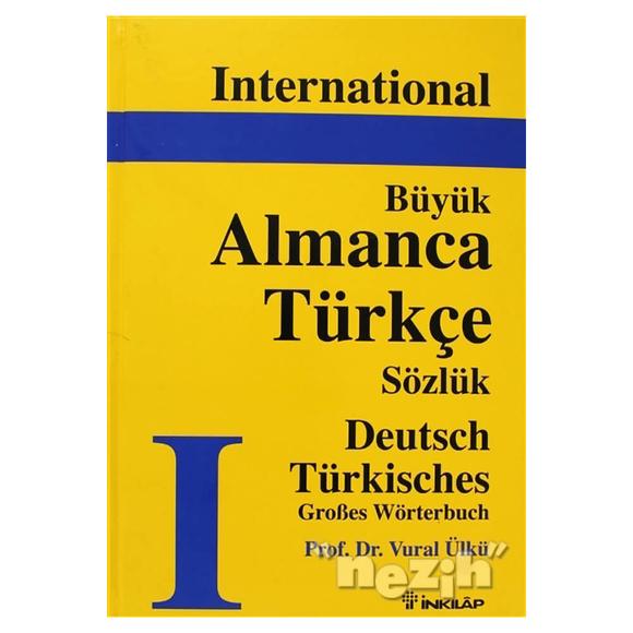 International Büyük Almanca - Türkçe Sözlük Deutsch Türkisch Grobes Wörterbuch