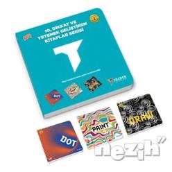 IQ Dikkat ve Yetenek Geliştiren Kitaplar Serisi Level 1 (3 Kitap Takım) - Thumbnail