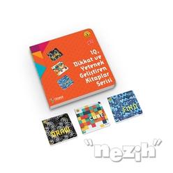 IQ Dikkat ve Yetenek Geliştiren Kitaplar Serisi Level 1 (7-8-9 Yaş) (3 Kitap Takım) - Thumbnail