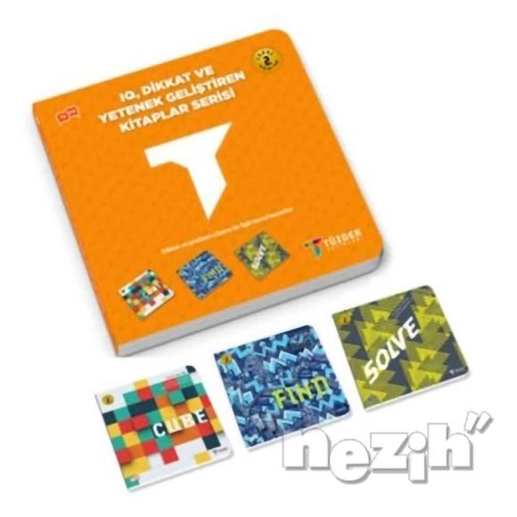 IQ Dikkat ve Yetenek Geliştiren Kitaplar Serisi Level 2 (3 Kitap Takım)