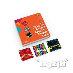 IQ Dikkat ve Yetenek Geliştiren Kitaplar Serisi Level 3 (7-8-9 Yaş) (3 Kitap Takım) - Thumbnail