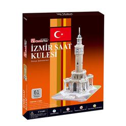 İzmir Saat Kulesi 61 Parça 3D Puzzle C168H - Thumbnail
