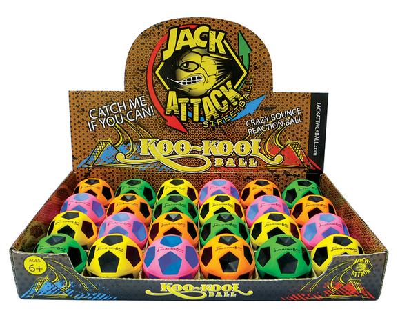 Jack Attack Koo-Kool Reaksiyon Topu