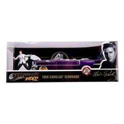 Jada 1956 Elvis Presley Cadillac 1:24 253255011 - Thumbnail