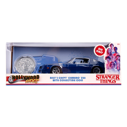 Jada Stranger Things 1979 Chevy Camaro 1:24 253255002 - Thumbnail