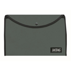 Jagbag Çıtçıtlı Kumaş Zarf Dosya Haki A4 - Thumbnail