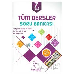 Karekök 7. Sınıf Tüm Dersler Soru Bankası - Thumbnail