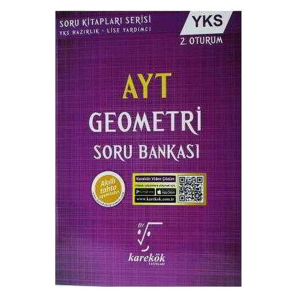 Karekök AYT Geometri 2. Oturum Soru Bankası
