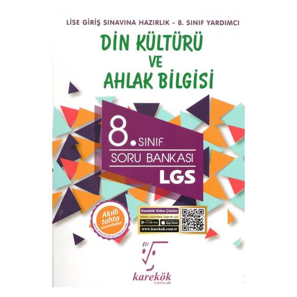 Karekök LGS 8.Sınıf Din Kültür Soru Bankası