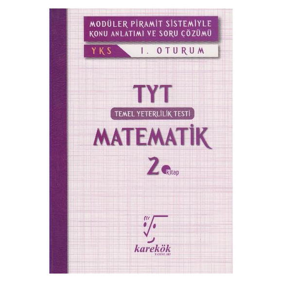 Karekök YKS 1.Oturum TYT Matematik 2.Kitap
