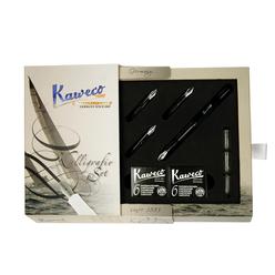 Kaweco Kaligrafi Seti Siyah 10000229 - Thumbnail