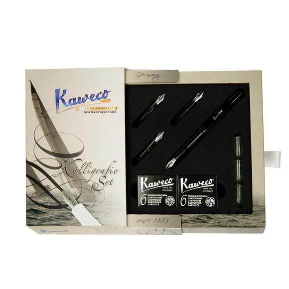Kaweco Kaligrafi Seti Siyah 10000229