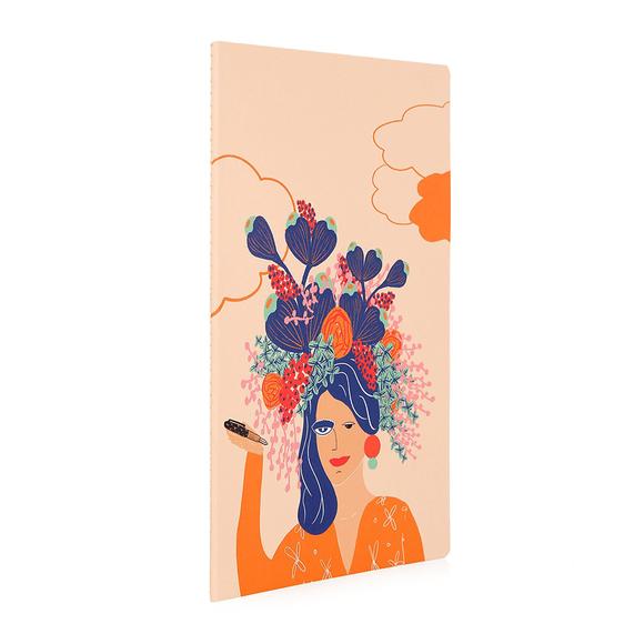 Kayansel for fulique Kadın Küçük Noktalı Defter 13x21cm