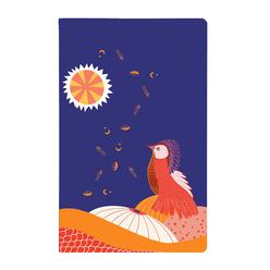 Kayansel for fulique Kuş Küçük Noktalı Defter 13x21cm - Thumbnail