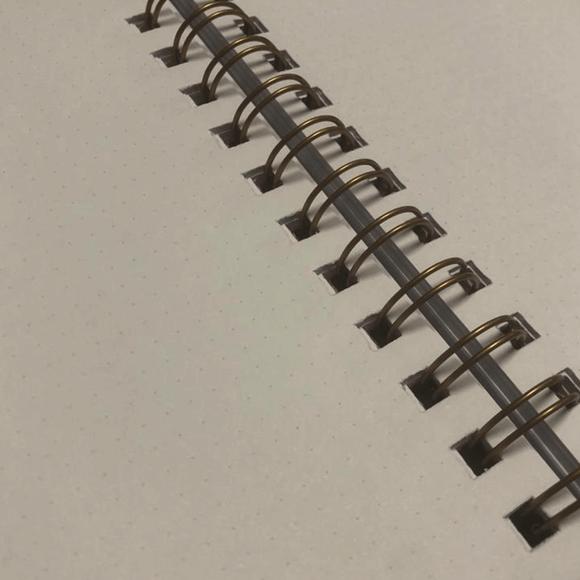 Kayansel for fulique Kuş Spiralli Noktalı Defter 14.8x21cm