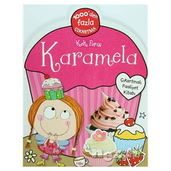 Kek Perisi Karamela - Çıkartmalı Faliyet Kitabı - Thumbnail