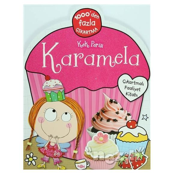 Kek Perisi Karamela - Çıkartmalı Faliyet Kitabı
