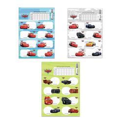Keskin Color Cars Ders Programlı Okul Etiketi 220130-33 - Thumbnail