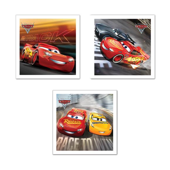 Keskin Color Cars Doğum Günü Kart+Zarf 10'lu 160700-33